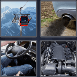 4 pics 1 word 3 letters car engine