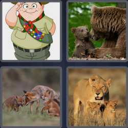 4 pics 1 word bears tigers