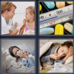 4 pics 1 word thermometer with pills
