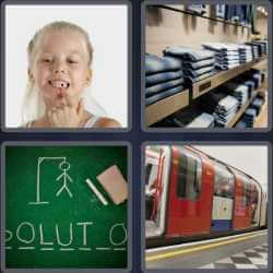4 pics 1 word girl without tooth