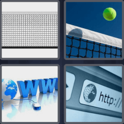 4 pics one word volleyball net
