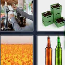4 Pics 1 Word 4 Letters Beer
