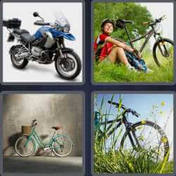 4-pics-1-word-4-letters-bike
