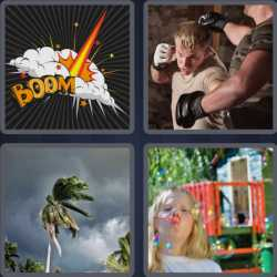 4 Pics 1 Word 4 Letters Blow