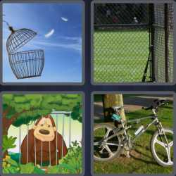 4-pics-1-word-4-letters-cage