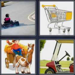 4-pics-1-word-4-letters-cart