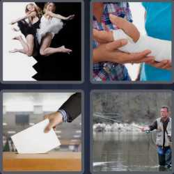 4 Pics 1 Word 4 Letters Cast