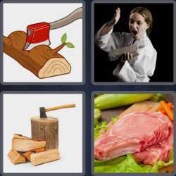 4-pics-1-word-4-letters-chop