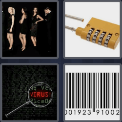 4 Pics 1 Word 4 Letters Code