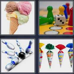4-pics-1-word-4-letters-cone