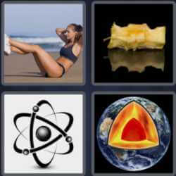 4 Pics 1 Word 4 Letters Core