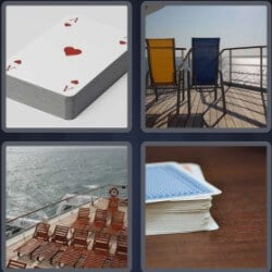 4 Pics 1 Word 4 Letters Deck