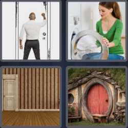 4-pics-1-word-4-letters-door