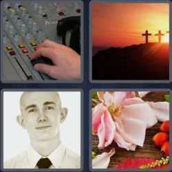 4 Pics 1 Word 4 Letters Fade