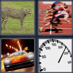 4 Pics 1 Word 4 Letters Fast