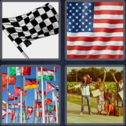 4-pics-1-word-4-letters-flag