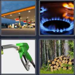 4 Pics 1 Word 4 Letters Fuel