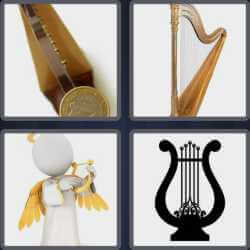 4 Pics 1 Word 4 Letters Harp