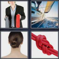 4 Pics 1 Word 4 Letters Knot