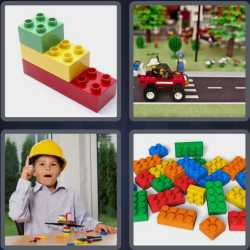 4 Pics 1 Word 4 Letters Lego