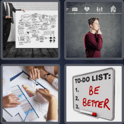 4 Pics 1 Word 4 Letters Plan