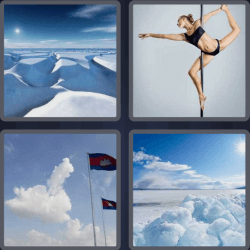 4 Pics 1 Word 4 Letters Pole