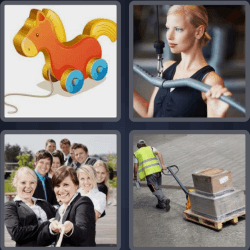 4 Pics 1 Word 4 Letters Pull