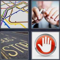 4-pics-1-word-4-letters-stop