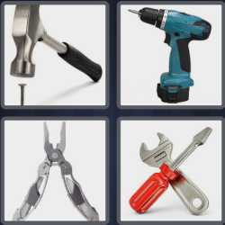 4 Pics 1 Word 4 Letters Tool
