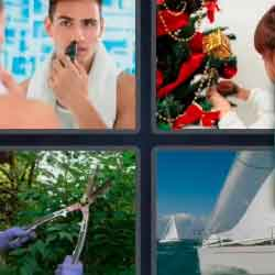 4 pics 1 word pruning shears ships