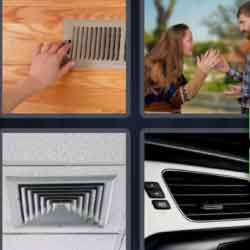 4 Pics 1 Word 4 Letters Vent