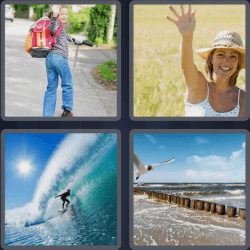 4-pics-1-word-4-letters-wave