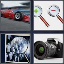 4 Pics 1 Word 4 Letters Zoom
