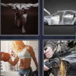 4 Pics 1 Word 4 Letters Body