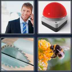 4 Pics 1 Word 4 Letters Buzz