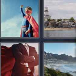 4 Pics 1 Word 4 Letters Cape