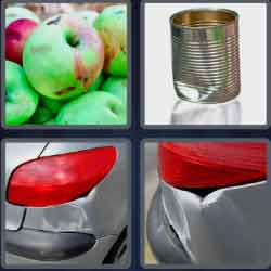 4 Pics 1 Word 4 Letters Dent