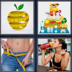 4-pics-1-word-4-letters-diet