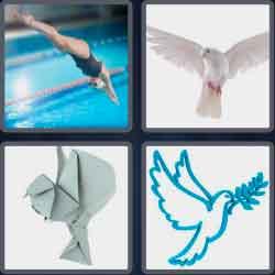 4 Pics 1 Word 4 Letters Dove