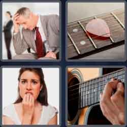 4 Pics 1 Word 4 Letters Fret