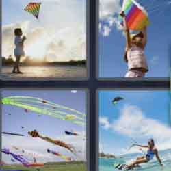 4 Pics 1 Word 4 Letters Kite