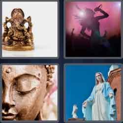 4 Pics 1 Word 4 Letters Level 3693 Idol