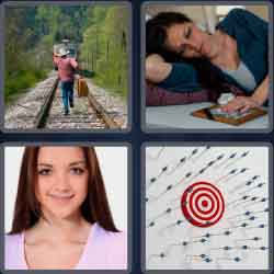 4 Pics 1 Word 4 Letters Miss