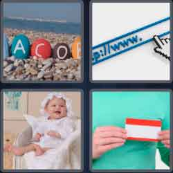4 Pics 1 Word 4 Letters Name