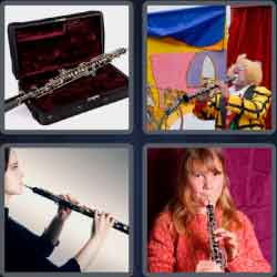 4 Pics 1 Word 4 Letters Oboe