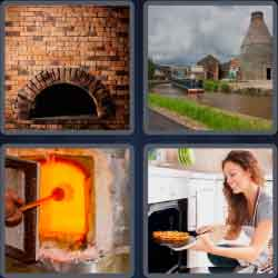 4 Pics 1 Word 4 Letters Oven