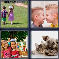 4 Pics 1 Word 4 Letters Pals
