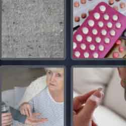 4 Pics 1 Word 4 Letters Pill