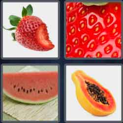 4 Pics 1 Word 4 Letters Pips