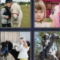 4 Pics 1 Word 4 Letters Pony